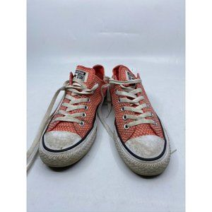 CONVERSE Sneakers White Orange Women's Size 7